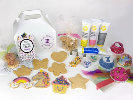 Cookie Decorating Kit: The Magical box