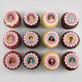"""""""Disney Princesses"""" theme cupcakes"""