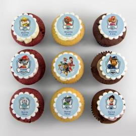 Paw-Patrols theme cupcakes