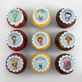 Octonautes cupcakes
