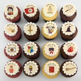Harry Potter theme cupcakes