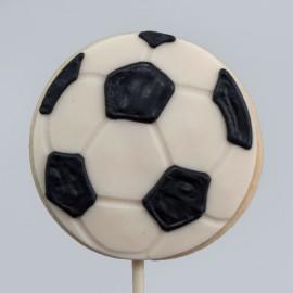 Le biscuit ballon de soccer de la Fête des Pères