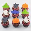 Les «Épeurants« Cupcakes d'Halloween