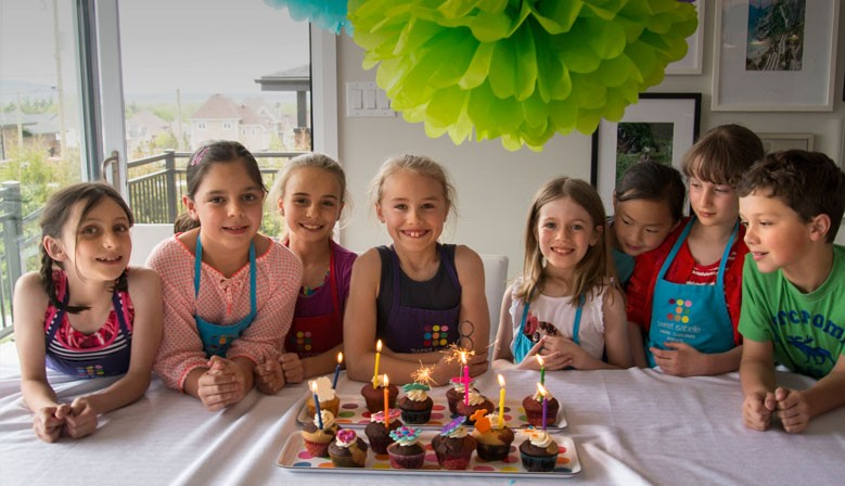 At-home kids' birthday party: culinary activity