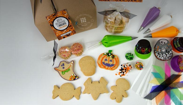 Halloween cookie decorating kit