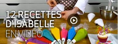 Recettes d'Isabelle en vidéos