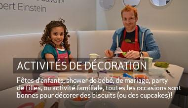 Fêtes d'enfants et activités de décoration